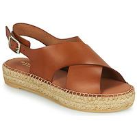 Chaussures Femme Sandales et Nu-pieds Minelli MOULTI Marron