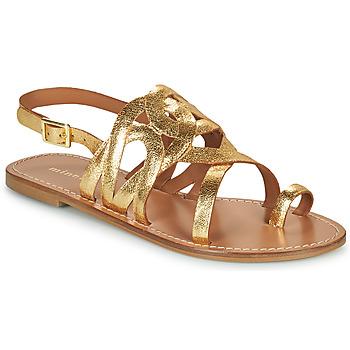 Chaussures Femme Sandales et Nu-pieds Minelli NOUNNA Doré
