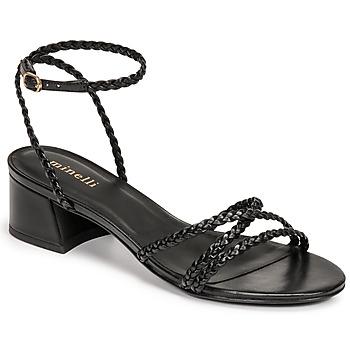 Chaussures Femme Sandales et Nu-pieds Minelli HARIETTE Noir