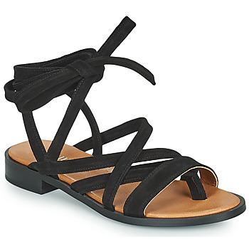 Chaussures Femme Sandales et Nu-pieds Minelli HURIA Noir
