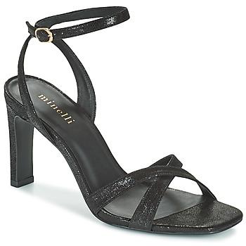Chaussures Femme Sandales et Nu-pieds Minelli THIPHANNIE Noir