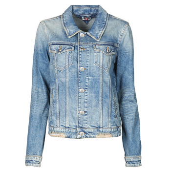 Vêtements Femme Vestes en jean Tommy Jeans REGULAR TRUCKER JACKET USDRG Bleu
