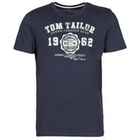 Vêtements Homme T-shirts manches courtes Tom Tailor 1008637-10690 Marine