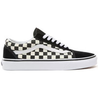 Chaussures Baskets basses Vans UA Old Skool (Primary Check) Black/White
