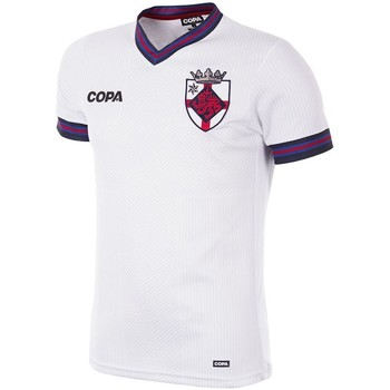 Vêtements Homme T-shirts manches courtes Copa Football Maillot Copa Angleterre blanc