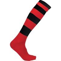 Accessoires Chaussettes Proact Chaussettes de sport  Cerclées rouge clair/jaune clair