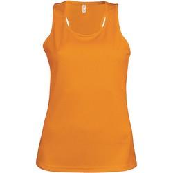 Vêtements Femme Débardeurs / T-shirts sans manche Proact Débardeur femme  Sport orange