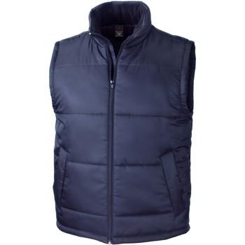 Vêtements Gilets / Cardigans Result Doudoune Sans Manche  Core bleu marine