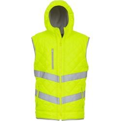 Vêtements Gilets / Cardigans Yoko Doudoune  Haute Visibilité jaune