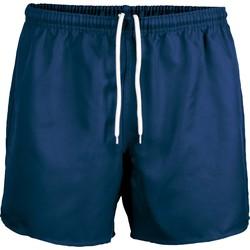Vêtements Shorts / Bermudas Proact Short Praoct Rugby bleu royal/bleu