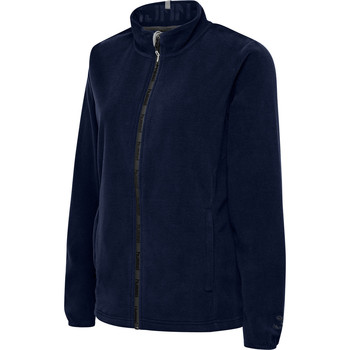 Vêtements Femme Polaires Hummel Veste femme  full zip North Fleece bleu marine