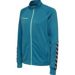 Vêtements Femme Vestes de survêtement Hummel Veste femme  Zip hmlAUTHENTIC Poly bleu foncé