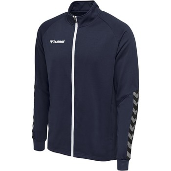 Vêtements Homme Vestes de survêtement Hummel Veste  Zip Authentic Poly bleu