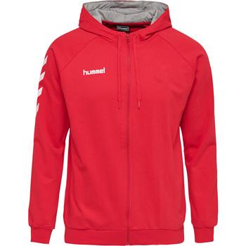 Vêtements Homme Ensembles de survêtement Hummel Veste zippé  Hmlgo rouge/blanc/gris