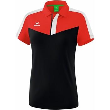 Vêtements Femme Polos manches courtes Erima Polo femme  Squad rouge/noir/blanc