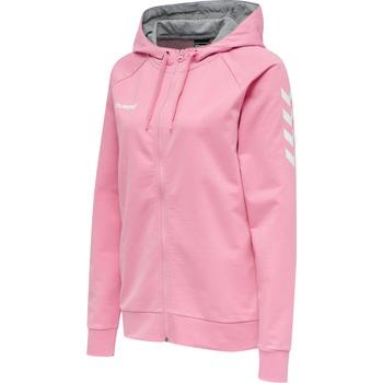 Vêtements Femme Sweats Hummel Veste à capuche femme  Hmlgo Zip rose