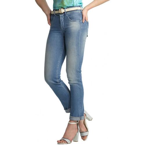 Vêtements Femme Jeans slim Salsa Jeans PUSH IN Secret avec ceinture offerte bleu 112439