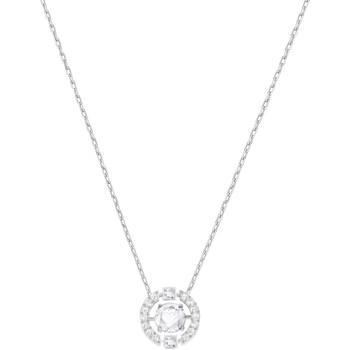 Montres & Bijoux Femme Colliers / Sautoirs Swarovski Collier  Sparkling blanc Blanc