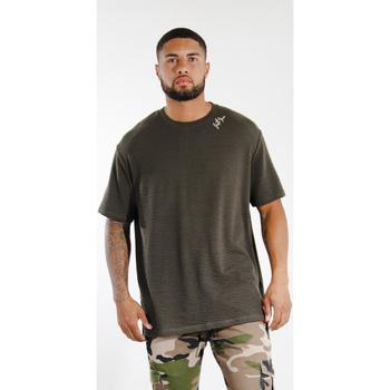 Vêtements Homme T-shirts manches courtes Sixth June T-shirt  logo épaule kaki