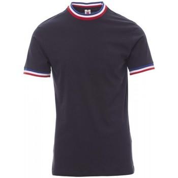 Vêtements Homme T-shirts manches courtes Payper Wear T-shirt Payper Flag bleu roi/italie