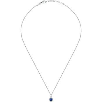Montres & Bijoux Colliers / Sautoirs Cleor Collier  en Argent 925/1000 et Oxyde Bleu Blanc