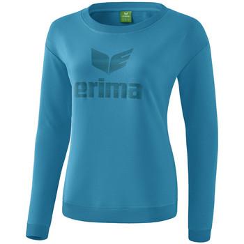 Vêtements Femme T-shirts manches longues Erima Sweat-shirt femme  Essential bleu clair/bleu