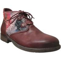 Chaussures Femme Boots Laura Vita TESSA Bordeaux cuir
