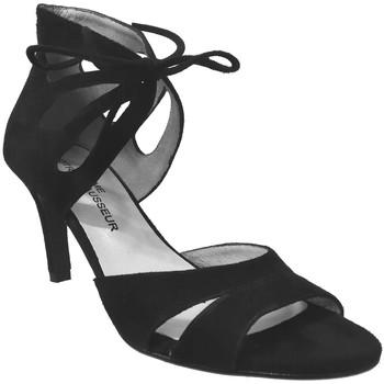 Chaussures Femme Sandales et Nu-pieds Brenda Zaro F2042 Noir