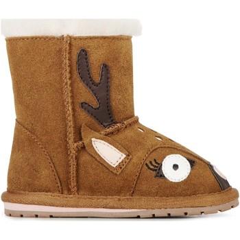 Chaussures Enfant Bottes de neige EMU Deer Walker Chestnut