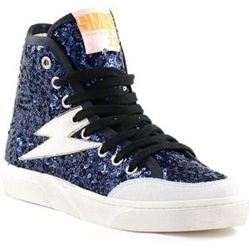 Chaussures Femme Baskets montantes Semerdjian YOTE 4436 Bleu