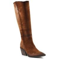 Chaussures Femme Bottes Little...la Suite F20336 Camel