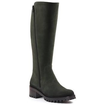Chaussures Femme Bottes Qootum 20WW679 Kaki