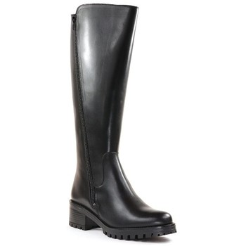 Chaussures Femme Bottes Qootum 20WW678 Noir