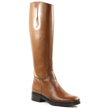 Chaussures Femme Bottes Qootum 20WW643 Camel