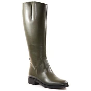 Chaussures Femme Bottes Qootum 20WW643 Kaki