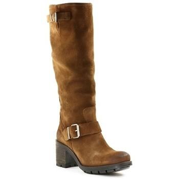 Chaussures Femme Bottes Paoyama KAOLA Camel