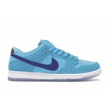 Chaussures Baskets basses Nike SB Dunk Low Blue Fury  Blue Fury/Deep Royal-Blue Fury