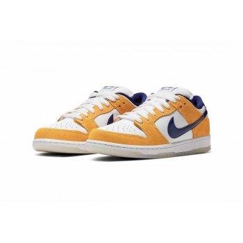 Chaussures Baskets basses Nike Air Force 1 high x Comme des Garçons White/Regency Purple-Laser Orange