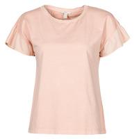 Vêtements Femme T-shirts manches courtes Esprit T-SHIRTS Rose