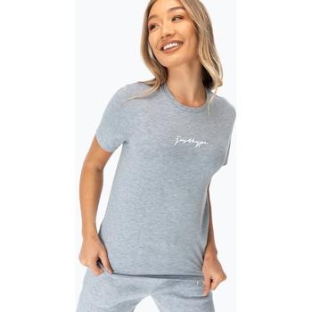 Vêtements Femme T-shirts manches courtes Hype  Gris