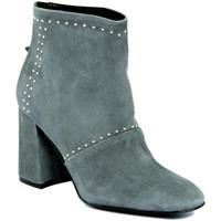 Chaussures Femme Bottines Fashion Attitude  Grigio