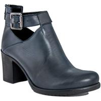 Chaussures Femme Bottines Fashion Attitude  Blu
