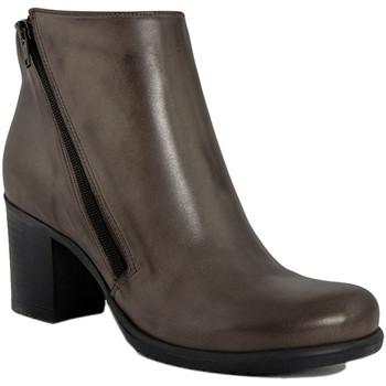 Chaussures Femme Bottines Fashion Attitude  Marrone
