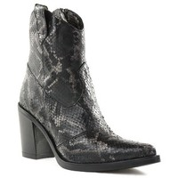 Chaussures Femme Bottines Emanuele Crasto 5023 Anthracite