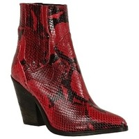 Chaussures Femme Bottines Giancarlo G104 Rouge