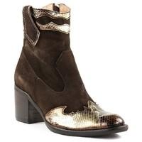 Chaussures Femme Bottines Little...la Suite F20355 Marron