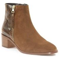 Chaussures Femme Bottines Impact 269K Camel