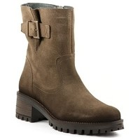 Chaussures Femme Bottines Qootum 20WW665 Taupe