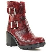 Chaussures Femme Bottines Paoyama KULTY Rouge