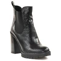 Chaussures Femme Bottines Paoyama KARS Noir